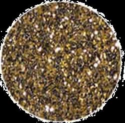 glitter black gold